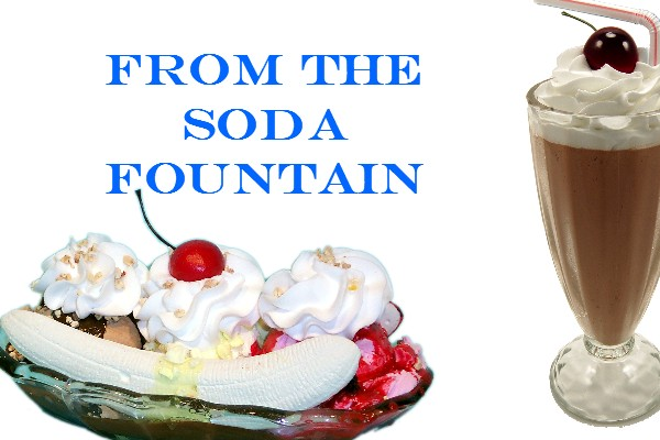 Fake Ice Cream Soda Fountain