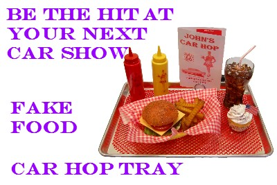 Car Hop Trays