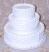 "Three tier Stacked 16"" Wedding Cake"