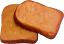 fake toast slice