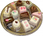 fake dessert mini cakes assorted 13 pack