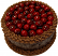 Cherry Chocolate Gel Cake