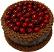 Cherry Chocolate Gel Cake