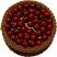 Cherry Chocolate Gel Cake TOP