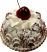 Small Bundt Cake Chocolate Fake Food USA