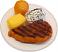 Steak Dinner Plate fake food