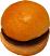 Hamburger Plain fake food