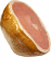 fake roasted ham shrink wrapped