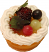 Fruit Fake Tarts 2 inch berry