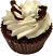 Chocolate Butterfly Fake Cupcake