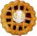 Country Apple Fragrance Potpourri Pie TOP