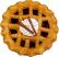 Cinnamon Fragrance Potpourri Pie TOP