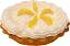 Lemon Cream Artificial Pie 9 Inch