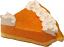 Pumpkin Pie Cream Artificial Pie Slice Fragrance