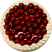 Cherry White Gel Cake top