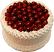Cherry White Gel Cake