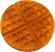 Waffle Plain fake food