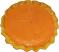 Pumpkin Pie Plain Artificial Pie with Slice Fragranced Top