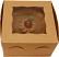 "Mocha 6"" Fake Cake Box"