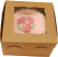 "Pink Rose 6"" Fake Cake Box"