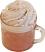 Ice Coffee Mug Fake Drink