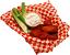 Buffalo Fake Wings Red Sauce In Basket