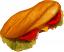 fake deli sandwich