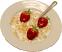Corn Flakes Fake Cereal Bowl
