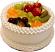 Vanilla Fake Fruit Cake