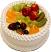 Vanilla Fake Fruit Cake B