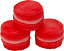 Pink Strawberry Fake Macarons (Macaroon) with Cream 3 Pack