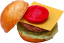 Cheeseburger fake foods