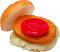 Chicken or Fish fake Sandwich open
