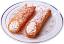 Cannoli Fake Sicilian Dessert 2 piece Powdered Sugar B