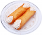 Cannoli Fake Sicilian Dessert 2 piece Plain