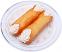 Cannoli Fake Sicilian Dessert 2 piece Plain