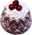 Large Bundt Cake Chocolate Cherry Fake Food USA