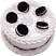 Cookie and Cream fake cake