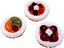 Fruit Fake Tarts 3 inch Assorted 3 pack USA