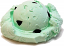 Chocolate Mint Single Scoop fake ice cream NO CONE