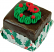 Mini Christmas Fakey Cakes Chocolate
