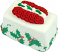 Mini Christmas Fakey Cakes Ribbon