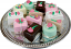 Mini Fakey Cakes 12 pack Assortment Petit Fours