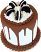 """Cookie and Cream Tall Fake Cake 9"""" USA"""