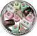 Mini Fakey Cakes 12 pack Assortment Petit Fours top