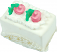 Fake Petit Fours White