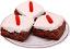 Fake Brownies Carrot Top 3 Pack Plate