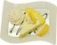 Lemon Cake Fake Dessert Plate top