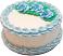 Pale Blue Rose Blank Fake Cake USA