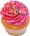 Strawberry Fake Cupcake USA